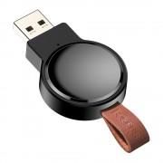 Baseus Dotter mini Qi 2.5W vezeték nélküli töltő Apple Watch fekete (WXYDIW02 - 01)