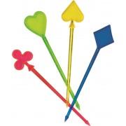 Set 30 tepuse Poker plastic color
