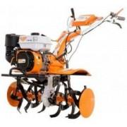 Motocultor Ruris 731K 7.5 CP 4 timpi 83 cm latime lucru reductor fonta 3.6 l benzina + roti cauciuc + rarita + roti metalice