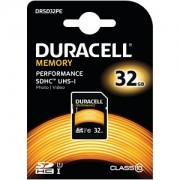 Duracell 32GB SDHC Class 10 UHS-I Memory Card (DRSD32Pe)