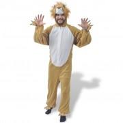 vidaXL Карнавален костюм на лъв, M-L