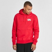 Billionaire Small Arch Logo Hooded Sweat Red