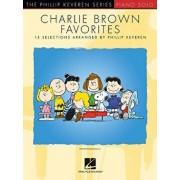 Charlie Brown Favorites: 15 Selections Arranged by Phillip Keveren, Paperback/Vince Guaraldi
