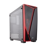 Corsair Carbide SPEC04 Computer Case - ATX, Micro ATX, Mini ITX Motherboard Supported - Mid-tower - Tempered Glass - Black