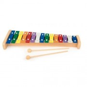 Xilofon de lemn cu 15 note