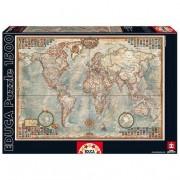 Educa Borrás - Puzzle 1500 Piezas ''Mapamundi