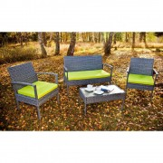 Set terasa/outdoor tehno-rattan PERFETTO