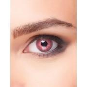 Vegaoo Roze electro contactlenzen voor volwassenen One Size