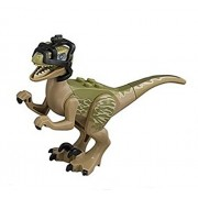 Lego Jurassic World Raptor Delta Minifigure