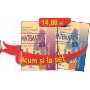 Set caiete Matematica pentru clasa a IV-a (semestrele I si II)