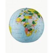 Replogle Globes Inflatable Political Globe Light Blue Ocean 16-Inch Diameter