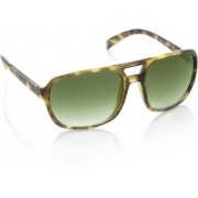 United Colors of Benetton Over-sized Sunglasses(Green)