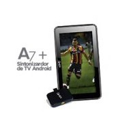 BUNDLE TABLET GHIA A7 WIFI/QUAD CORE/1GB8GB/2CAM/WIFI/BT/ANDROID7/NEGRA/Y SINTONIZADOR BASICO DE TV GHIA PARA DISPOSITIVOS MOVILES ANDROID C/1ANTENA LEONES NEGROS