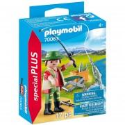 Playmobil Special Plus - Pescador Con Caña Y Peces - 70063