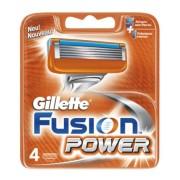 Gillette Fusion Power - wkłady do maszynki do golenia, 4 sztuki