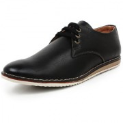 Buwch Men Black Synthetic Leather Casual Shoe