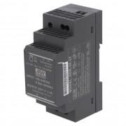 Mean Well HDR-30-24 36W 24V DIN sín modulra Vin: 100-240V AC, Vout: 24V DC
