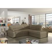 Expedo + Canapea pe colț ROBERTO, 255x90x212, berlin03, dreapta