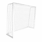 Trave de Futsal 3,00 x 2,00 Monobloco + Bucha + Rede (Par) - 3,00 x 2,00