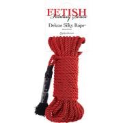 Corda bondage Pipedream Silky Rope Deluxe Rosso