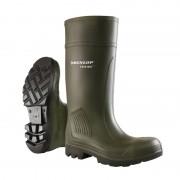 Dunlop D460933 Purofort Professional (onbeveiligd) Donkergroen - Maat 38