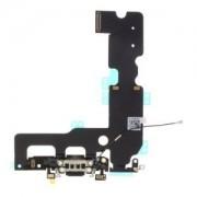 Apple iPhone 7 Plus (5.5) fekete töltőcsatlakozó szalagkábel
