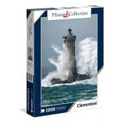 """Clementoni """"Plisson - Four Lighthouse"""" Puzzle (1000 Piece)"""