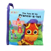 Horse Animal Cloth Book Baby Fabric Books Educational Infant Learning Toy