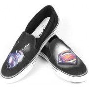 F-Gali The Man of Steel Slip-on Shoes Canvas Shoes For Men(Multicolor)