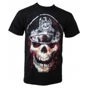 tricou stil metal bărbați Slayer - Skull Hat - ROCK OFF - SLAYTEE01MB