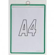 Tarifold Hänge-Klarsichttasche - für Format DIN A4 - grün, VE 10 Stk