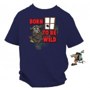 """Sniper Buffy Infant/Kids T-Shirt """"Born to be Wild"""""""