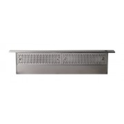 "Zephyr - Essentials Europa Sorrento 36"" Telescopic Downdraft System - Stainless steel"