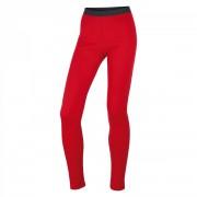 Husky | Merino 100 L Nohavice Červená XS