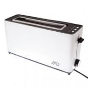 Prajitor de paine MTO-8072 MD 900W 2 felii 7 setari rumenire functii dezghetare si reincalzire Alb