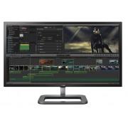 "LG 31MU97Z-B, 31"" Digital Cinema 4K, IPS Ant-Glare Panel, 5ms, 1M:1 DFC, 320 cd/m2, 17:9, 4096x2160, RGB 99,5%, HDMI, USB 3.0, DP, SP 2x5w, Pivot, Titan Sliver"