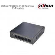 Dahua PFS3005-4P-58 4portový PoE switch