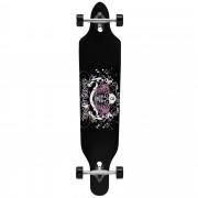 Лонгборд [pro.tec]® Cruising Board skateboard 104 x 23 x 9,5 cm Черен/Бял/Розов