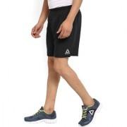 Reebok Men's Black Polyester Lycra Shorts