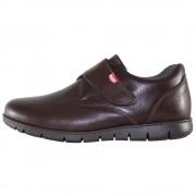 Pantofi Onfoot - brown, din piele naturala