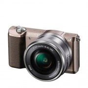 Sony A5100 16-50mm Bruin Systeemcamera