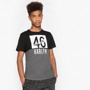 La Redoute Collections Mehrfarbiges T-Shirt mit Rundhalsausschnitt, 10-16 Jahre