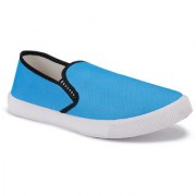 Super men blue 1198 casual sneaker loafer sports boots shoes