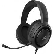 CORSAIR HS35 Auriculares Stereo para Juegos (Membrana Neodimio de 50 mm, Micrófono Unidireccional Extraíble