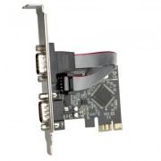 I/O, PCI Express to Serial, Roline VALUE, 2x serial RS232 (15.99.2118)