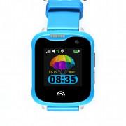 Ceas Inteligent pentru copii WONLEX KT05 Albastru, cu GPS, rezistent la apa, localizare WiFI si monitorizare spion