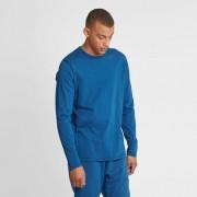 Reigning Champ long sleeve t-shirt - ringspun jersey Court blue