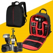 Sonstige Marke Wasserdichte DSLR Kamera Compact Backpack Tasche Tragetasche - Schwarz / Rot