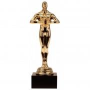 Geen Feest gouden award beeldje 15 cm