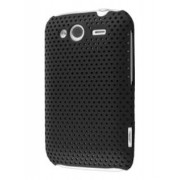 Slim Mesh Case for HTC Wildfire S - HTC Hard Case (Black)